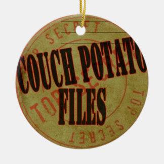 Couch Potato Files Christmas Ornaments