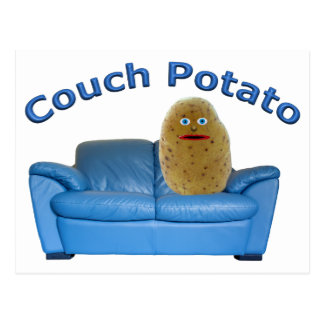 Couch Potato Postcard
