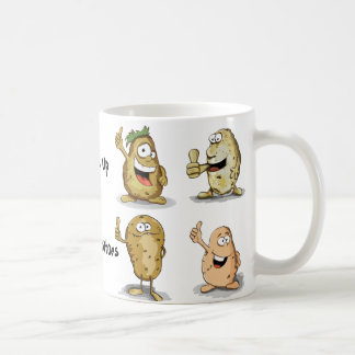 Couch Potatoes White 11 oz Classic Mug