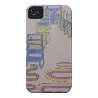 Couches with stairways and wriggling mats Case-Mate iPhone 4 case