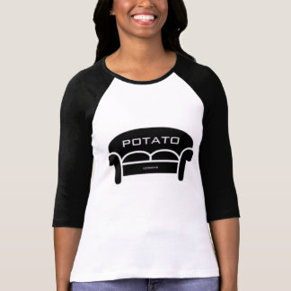 CouchPotatoDesign Logo Baseball Tee