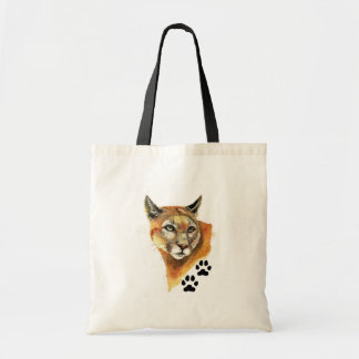 Cougar Animal Tote Bag