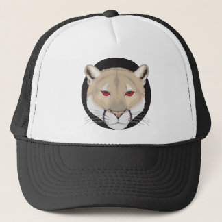 Cougar Art Trucker Hat