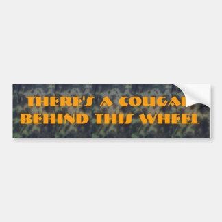 Cougar Bumper Sticker