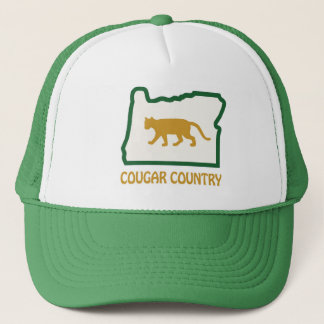 Cougar Country (green) Trucker Hat