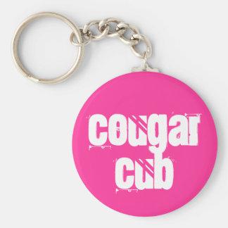 Cougar Cub Key Ring