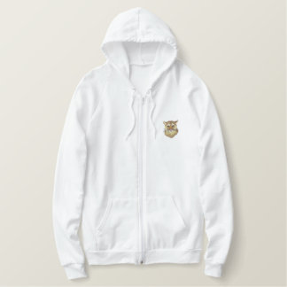 Cougar Embroidered Hoodie