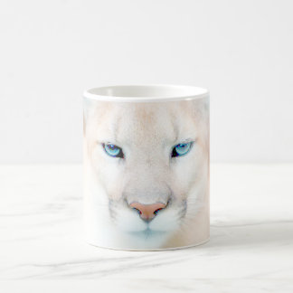 Cougar Face Wildlife Coffee Mug