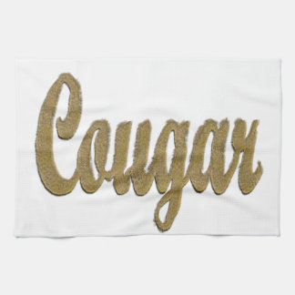 Cougar - Furry Text Kitchen Towels