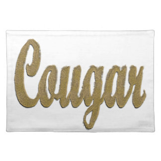 Cougar - Furry Text Placemat