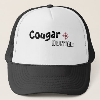 cougar hunter trucker cap