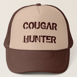 COUGAR HUNTER TRUCKER HAT