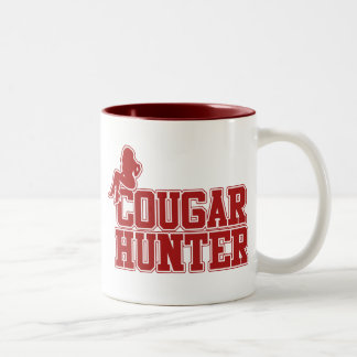 Cougar Hunter Two-Tone Coffee Mug