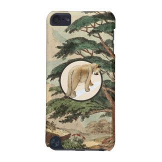 Cougar In Natural Habitat Illustration iPod Touch 5G Case