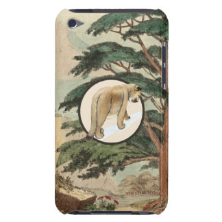 Cougar In Natural Habitat Illustration Barely There iPod Case