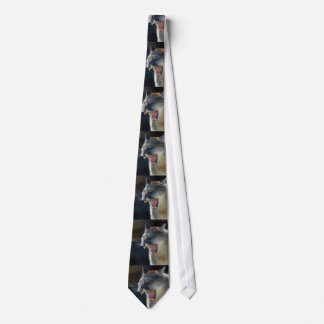 Cougar Mountain Lion Big Cat Art Tie