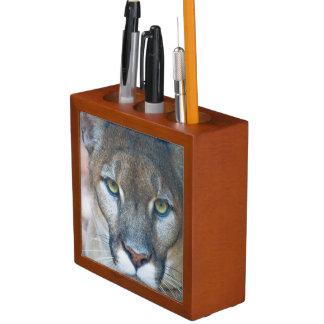 Cougar, mountain lion, Florida panther, Puma 2 Pencil Holder