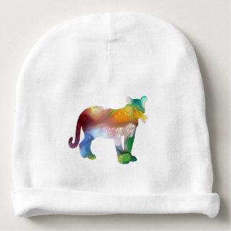 Cougar / Puma art Baby Beanie