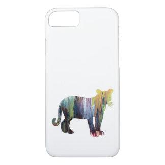 Cougar / Puma art iPhone 8/7 Case