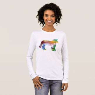 Cougar / Puma art Long Sleeve T-Shirt
