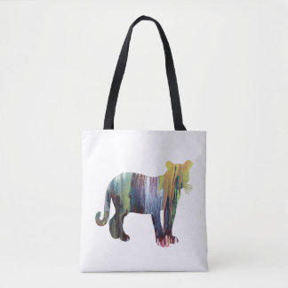 Cougar / Puma art Tote Bag