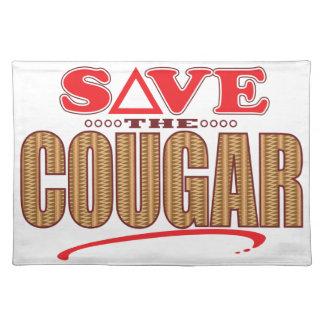 Cougar Save Place Mats
