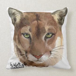 """""""Cougar"""" Throw Pillow"""