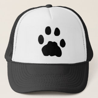 COUGAR TRACKS TRUCKER HAT