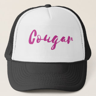 Cougar Trucker Hat - Pink