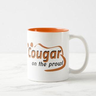 Cougar Two-Tone Coffee Mug