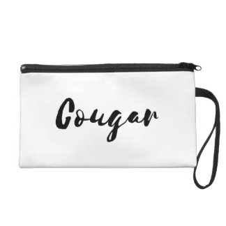 Cougar Wristlet Purse