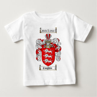COUGHLIN FAMILY CREST -  COUGHLIN COAT OF ARMS BABY T-Shirt