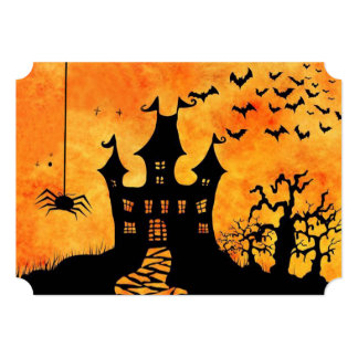Could Get Spooky! Halloween Party Invitations