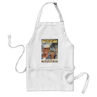 Couldn't Have Done it Without You Standard Apron