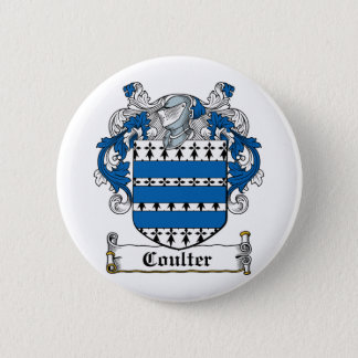 Coulter Family Crest 6 Cm Round Badge