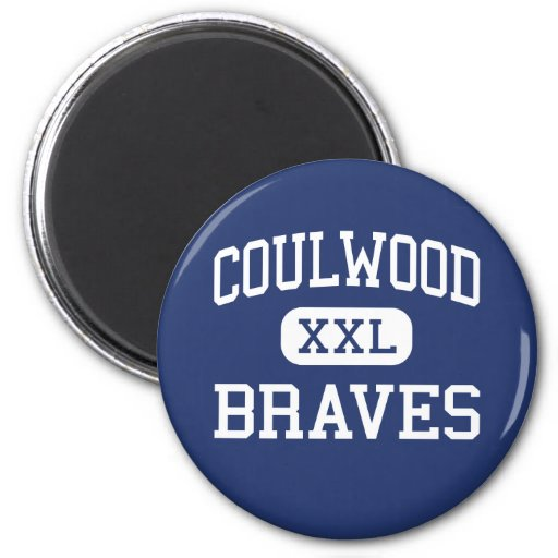 Coulwood Braves Middle Charlotte Magnets