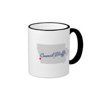 Council Bluffs Iowa IA Shirt Coffee Mug
