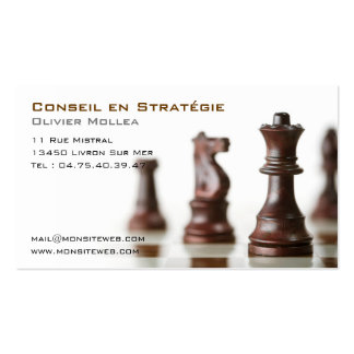 , Council calling card in strategy and business Pack Of Standard Business Cards