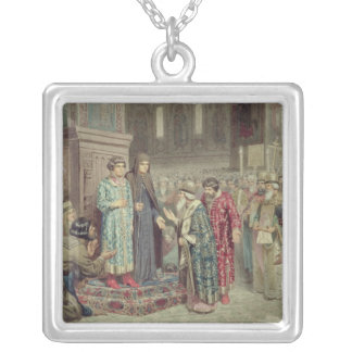 Council calling Michael F. Romanov  to the Silver Plated Necklace