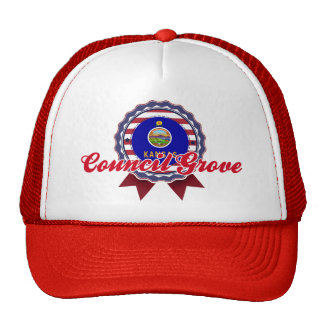 Council Grove, KS Trucker Hat