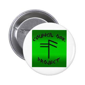 Council Oak Project Button