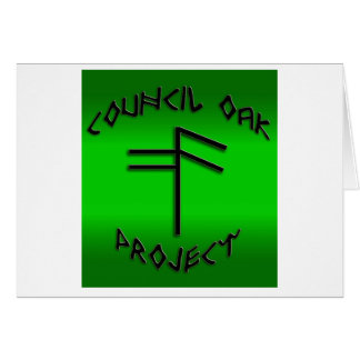 Council Oak Project Greeting Card