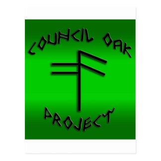 Council Oak Project Postcard