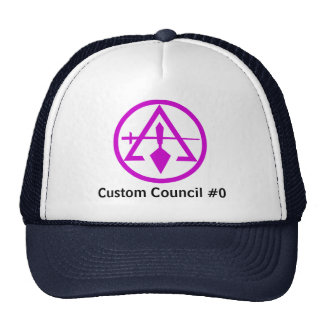 Council of Cryptic Masons Mesh Hat