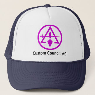 Council of Cryptic Masons Trucker Hat