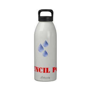 Council Pop ! Water Bottle