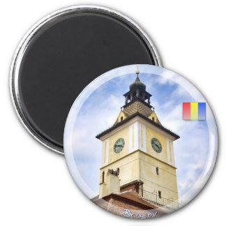 Council Tower 6 Cm Round Magnet