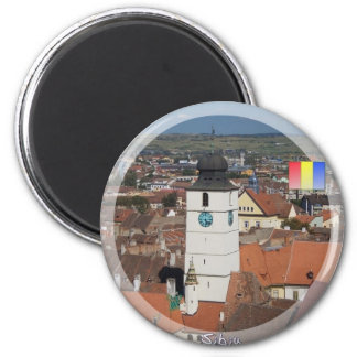 Council Tower Refrigerator Magnets