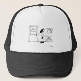 Counseling Cartoon 4967 Trucker Hat