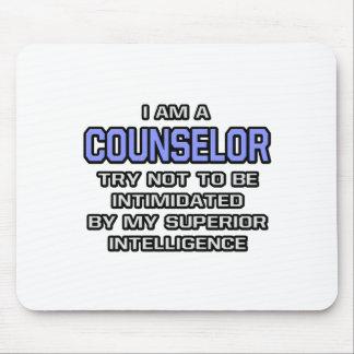 Counselor Joke ... Superior Intelligence Mousepads